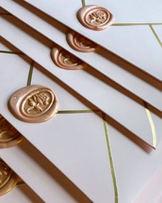 """Smitten With Love on Instagram: """"Incase you missed it a sneaky peek at my own wedding stationery💌 Can't get enough of these gold and pink marbled wax seals on our gold foil…"""" Wax Seals, Gold Foil, Wedding Stationery, Pink, Instagram, Pink Hair, Roses, Wedding Invitations, Wedding Invitation"""