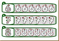 GRAFOMOTRICIDAD_llavero_pintaycolorea07 Kindergarten Worksheets, Math Activities, Numbers Preschool, Pre Writing, Fine Motor, Montessori, Homeschool, Projects To Try, Education