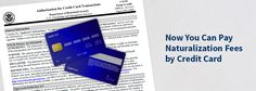 Pay Your N-400 Application Fee with Your Credit Card