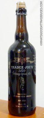 What's Good at Trader Joe's?: Trader Joe's 2020 Vintage Spiced Ale Pint Of Beer, Cheap Wine, Trader Joe's, Wine Cellar, Bartender, Beer Bottle, Wines, Brewing, Ale