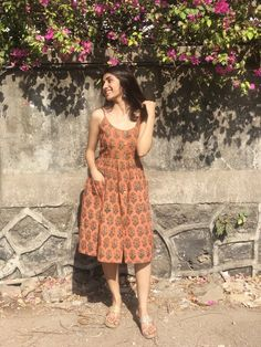 One Piece Dress Indian Casual Indian Fashion, Indian Fashion Dresses, Dress Indian Style, Indian Designer Outfits, Indian Wear, Cotton Dress Indian, Indian Attire, Designer Dresses, Casual Frocks
