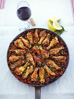 Chicken Paella | Chicken Recipes | Jamie Oliver