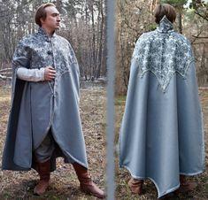 Fantasy cloak elven cloak fantasy mantle LARP by InspirationAtelie