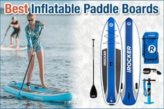 Top 9 Best Stand Up Inflatable Paddle Boards in 2020 Best Inflatable Paddle Board, Best Stand Up, Paddle Boarding, Boards, Beach, Top, Planks, Seaside, Stand Up Paddling
