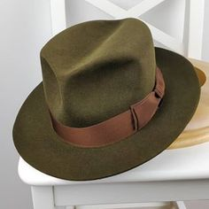 Stetson Mens Renegade Royal Deluxe Felt Hat Chocolate 7 1//4