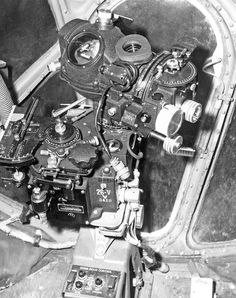USAAF Boeing B-29 Superfortress bombing sight