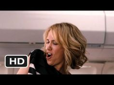 Annie(Kristin Wiig) Bridesmaids movie -relaxed on the plane clip