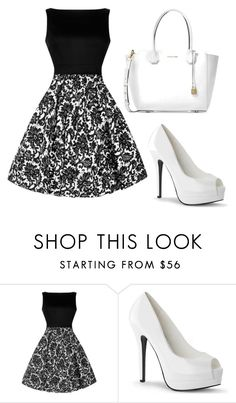 """""""Untitled #12"""" by seslianea ❤ liked on Polyvore featuring Michael Kors"""