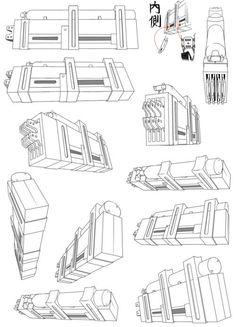 Shingeki no Kyojin/Attack on Titan - Cosplay concept… Aot Cosplay, Cosplay Weapons, Cosplay Diy, Attack On Titan Costume, Attack On Titan Anime, Gear Drawing, Drawing Reference Poses, Titans Gear, Mikasa Ackerman Cosplay