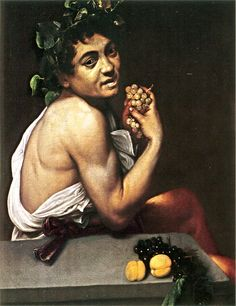 Michelangelo Caravaggio, Young Sick Bacchus, 1593
