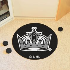 0bd8117347a Protect your floor in style and show off your fandom with Los Angeles Kings  Hockey Mat from Sports Licensing Solutions.