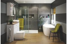 Practical planning - Bathrooms | Inspiration | DIY at B&Q