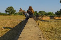 hot temples bagan myanmar