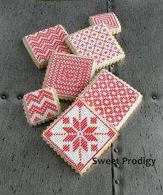 Nordic Needlepoint Cookies | Sweet Prodigy by Sweet Prodigy