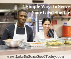 Want to make a difference in your local community, but not sure where to start? Here are some simple ways that you can help your local shelter! www.LetsDoSomeGoodToday.com