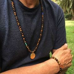 Men's Necklace Length Guide Necklace Sizes, Men Necklace, Necklace Lengths, Necklace Length Guide, Mens Beaded Necklaces, Bracelet Crafts, Bead Jewellery, Personalized Necklace, Photo Jewelry