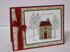 Stampin' Studio: And so it snows....