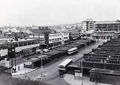 Burnley bus station Burnley, Bus Station, Old Photos, Britain, Transportation, England, Street View, Buses, City