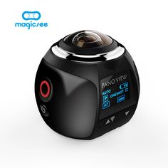 V1 4K 360 Action Camera Wifi Mini Panoramic Camera 2448*2448 Ultra HD Panorama Camera 360 Degree Sport Driving VR Camera