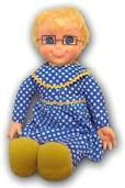 "Mrs. Beasley from ""A Family Affair"" tv show - she was Buffy's doll.  I had one and lovvvved her so much!"