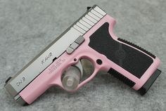 Kahr CW9 Pink Madness Edition 9mm Pistol, Matte Stainless Slide - Hyatt Gun Store