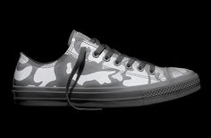 Converse - Chuck Taylor All Star II Reflective Camo - White - Low Top
