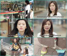 jin joo come for fight but when saw mermaid weird fashion sense like the sandals of dior and chanel- The Legend of the Blue Sea - Ep 7