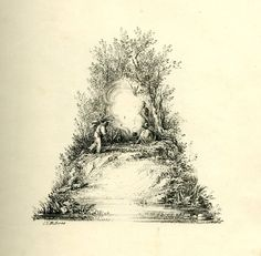 Lithographer Charles Joseph Hullmandel created an illustrated alphabet. | This Illustrated Alphabet From The 19th Century Is Beautiful Enough To Frame
