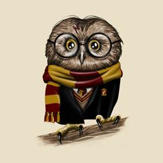This is a comforter with an owl that resembles Harry Potter, inspired by the series by JK Rowling. Ranges in size from Full to King. Perfect for children or adults who love this magical world. Magic Johnson, Akira, Jarry Potter, Harry Potter Owl, Desenhos Harry Potter, Indie, Pikachu, Harry Potter Merchandise, Fan Art