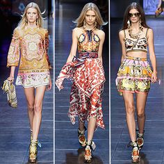 D & G Spring 2012, bohemian/ gypsy awesome