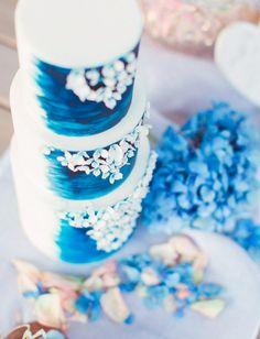 Blue Cakes, Some Ideas, Birthday Cake, Desserts, Wedding, Tailgate Desserts, Valentines Day Weddings, Deserts, Birthday Cakes