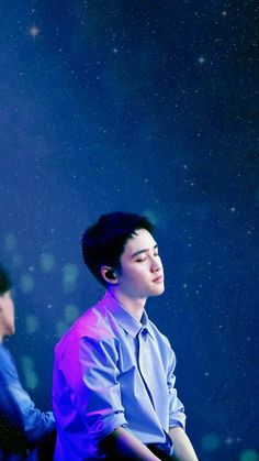 Kyungsoo Do / blue