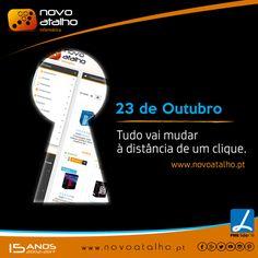Em contagem decrescente ... está ansioso?  Dia 23 de Outubro tudo vai mudar à distância de um clique. www.novoatalho.pt
