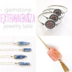 We have some gemstone items on sale in our shop (direct link in bio) and over at our sale page @shopthesilverloft!  Did you find your favorite piece? by thesilverloft