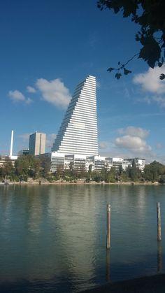Roche Tower by Herzog/ De Meuron, Basel