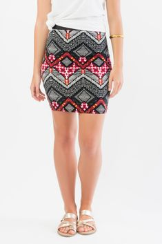Tribal Print Mini Skirt Tribal Prints, Suzy, Mini Skirts, Womens Fashion, Accessories, Shoes, Zapatos, Shoes Outlet, Mini Skirt