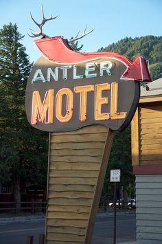 Antler Motel......Jackson, Wyoming