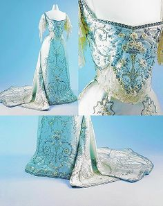 1900 Ball Gowns | 1900-1905 Worth Ball Gown.