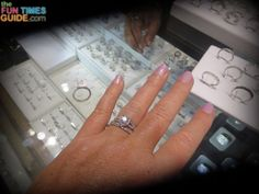 Do you know how to properly clean jewelry at home? I asked my jeweler... he showed me how to do it myself at home!