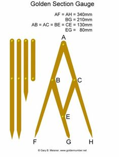 Golden Section Gauge / Fibonacci Gauge