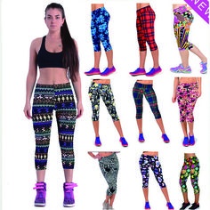 Cheap fitness pants, Buy Quality woman sport pants gym directly from China sports fitness pants Suppliers: 2016 New Arrival Women High Waist Calf-Length Fitness Pants Pattern Printed Slim Gym Running Leggins Sports Sweatpants Sports Trousers, Sport Pants, Sports Leggings, Trousers Women, Printed Leggings, Workout Leggings, Women's Leggings, Workout Gear, Leggings Fashion