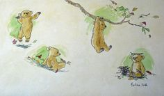 Barbara Firth illustrations from The Little Bear books