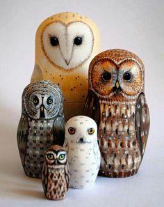 Owl ornaments