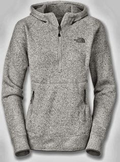 World of Women Fashion: New Adorable Comfy Grey North Face Hoodie
