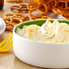 Beer Dip Recipe from Taste of Home -- shared by Michelle Long of New Castle, Colorado