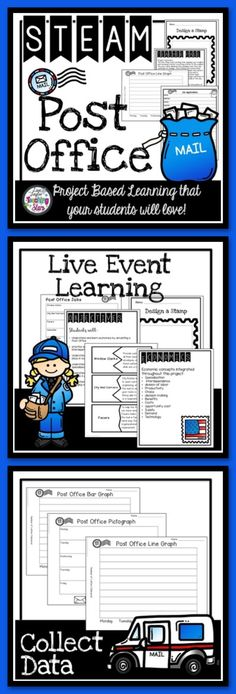 STEM Starting a School Post Office will introduce students to many important economics concepts as they start and run a School Post Office Simulation. Students learn how the post office runs and how their mail is delivered. This activity is a real live learning event! Students will love learning about economics as they start and run a post office!
