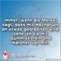 Merkel sagt:
