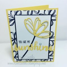 The Sunshine Sayings stamp set and the Sunshine Wishes Thinlits are a perfect…
