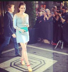 Met Gala 2014: Elizabeth Olsen Dress