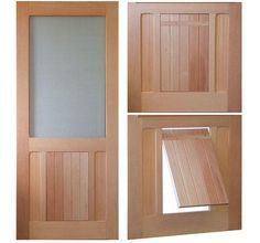 Cute Doggie Door For Big And Small Dogs Dog Door Dog